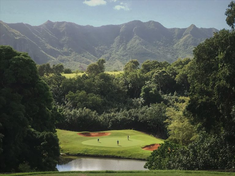Puakea Golf Course is the filming location for hollywood movies